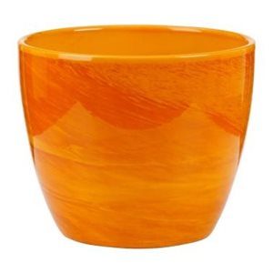 920 Cache-pot Yellow Marble