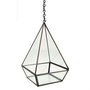 TRIANGLE ANTIQUE TERRARIUM